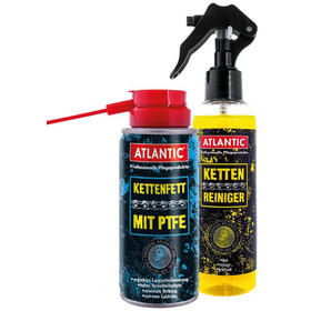 Atlantic Set de cuidado de cadenas - blanco